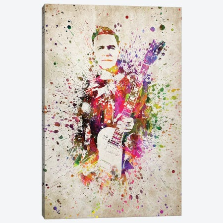 Bryan Adams Canvas Print #ADP3177} by Aged Pixel Canvas Wall Art