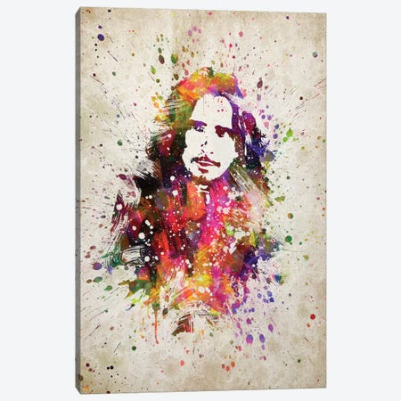 Chris Cornell I Canvas Print #ADP3180} by Aged Pixel Canvas Art