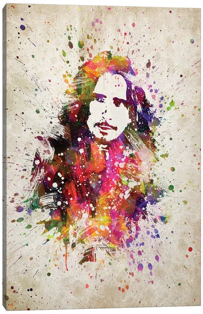 Chris Cornell I Canvas Art Print