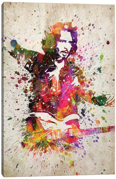 Chris Cornell II Canvas Art Print