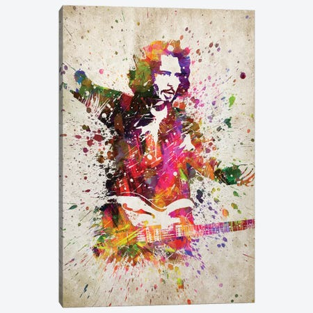 Chris Cornell II Canvas Print #ADP3181} by Aged Pixel Canvas Artwork