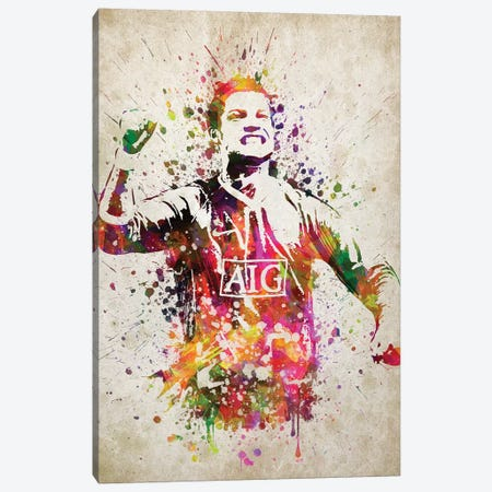 Cristiano Ronaldo Canvas Print #ADP3182} by Aged Pixel Canvas Art