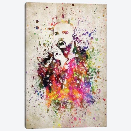 Drake Canvas Print #ADP3183} by Aged Pixel Canvas Wall Art