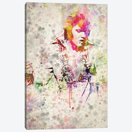 Elvis Presley Canvas Print #ADP3186} by Aged Pixel Canvas Print