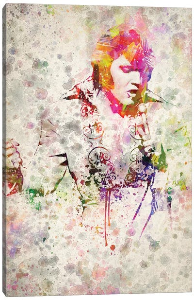 Elvis Presley Canvas Art Print