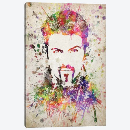 George Michael Canvas Print #ADP3192} by Aged Pixel Canvas Art Print