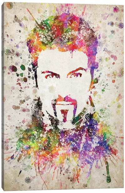 George Michael Canvas Art Print