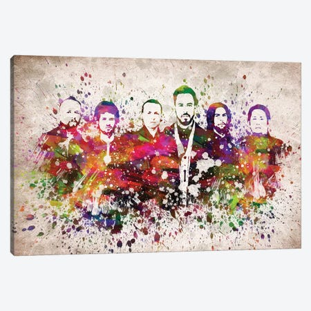 Linkin Park Canvas Print #ADP3197} by Aged Pixel Canvas Artwork