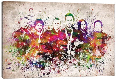 Linkin Park Canvas Art Print