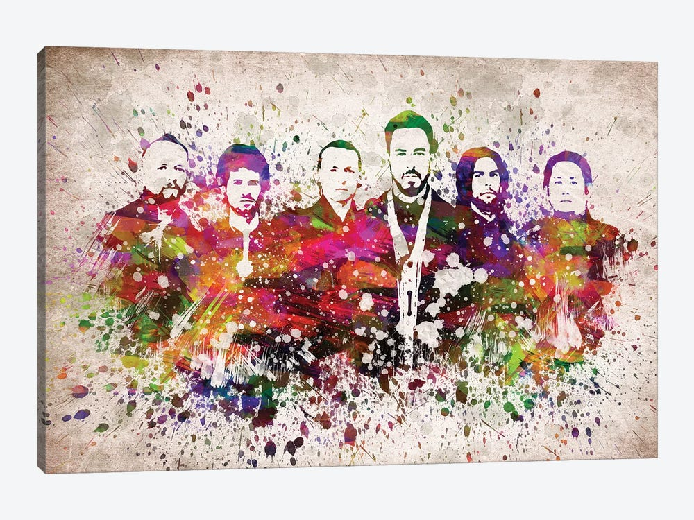 Linkin Park by Aged Pixel 1-piece Art Print