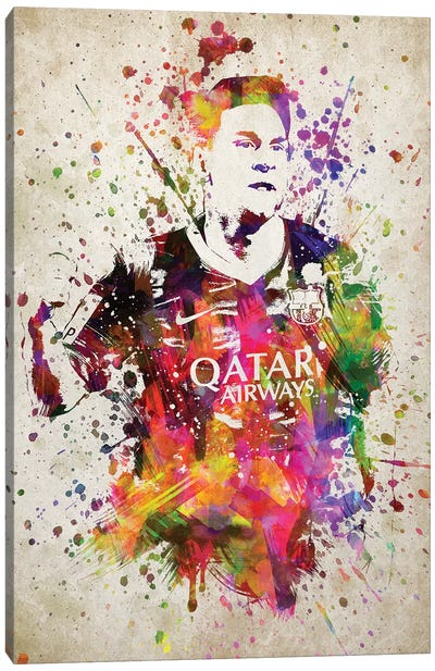 Lionel Messi Canvas Art Print