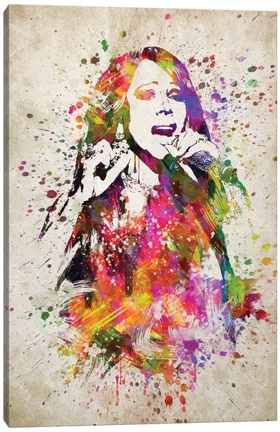 Mariah Carey Canvas Art Print