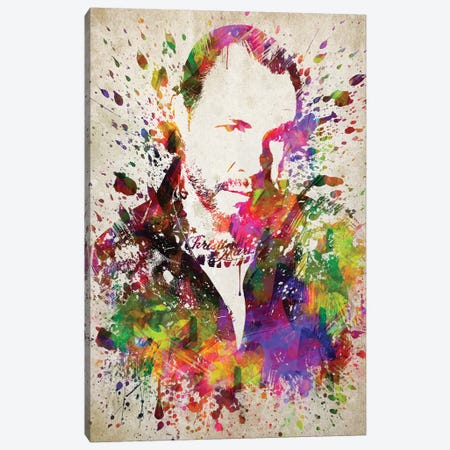 Mike Ness Canvas Print #ADP3204} by Aged Pixel Canvas Art