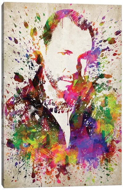 Mike Ness Canvas Art Print