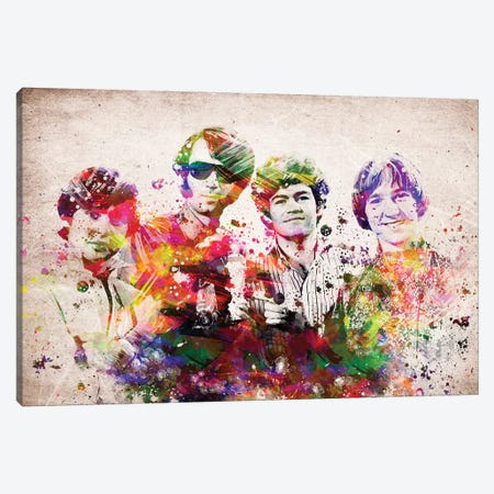 Monkees Canvas Print #ADP3205} by Aged Pixel Canvas Artwork