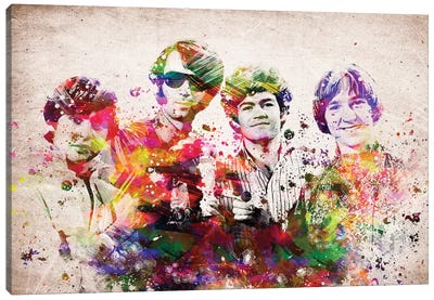 Monkees Canvas Art Print