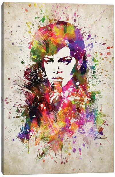 Rihanna Canvas Art Print