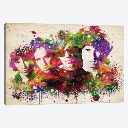 The Doors Canvas Print #ADP3211} by Aged Pixel Canvas Wall Art
