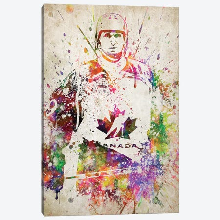 Wayne Gretzky Canvas Print #ADP3213} by Aged Pixel Canvas Artwork