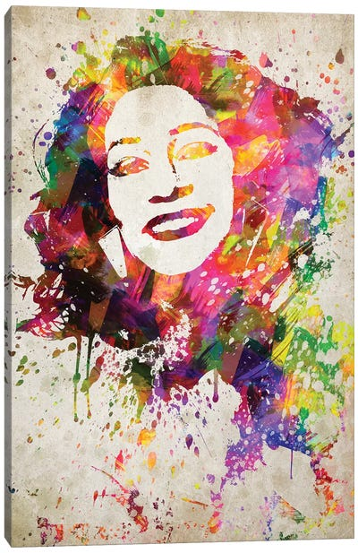 Whitney Houston Canvas Art Print