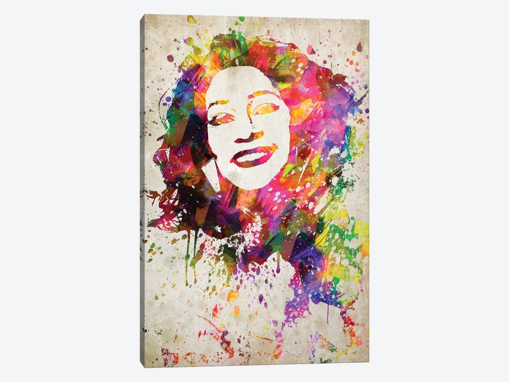 Whitney Houston by Aged Pixel 1-piece Canvas Print