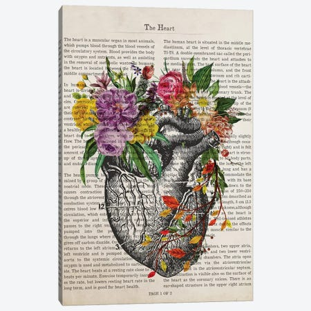 The Heart Canvas Print #ADP3218} by Aged Pixel Canvas Art