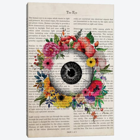 The Eye Canvas Print #ADP3219} by Aged Pixel Canvas Artwork