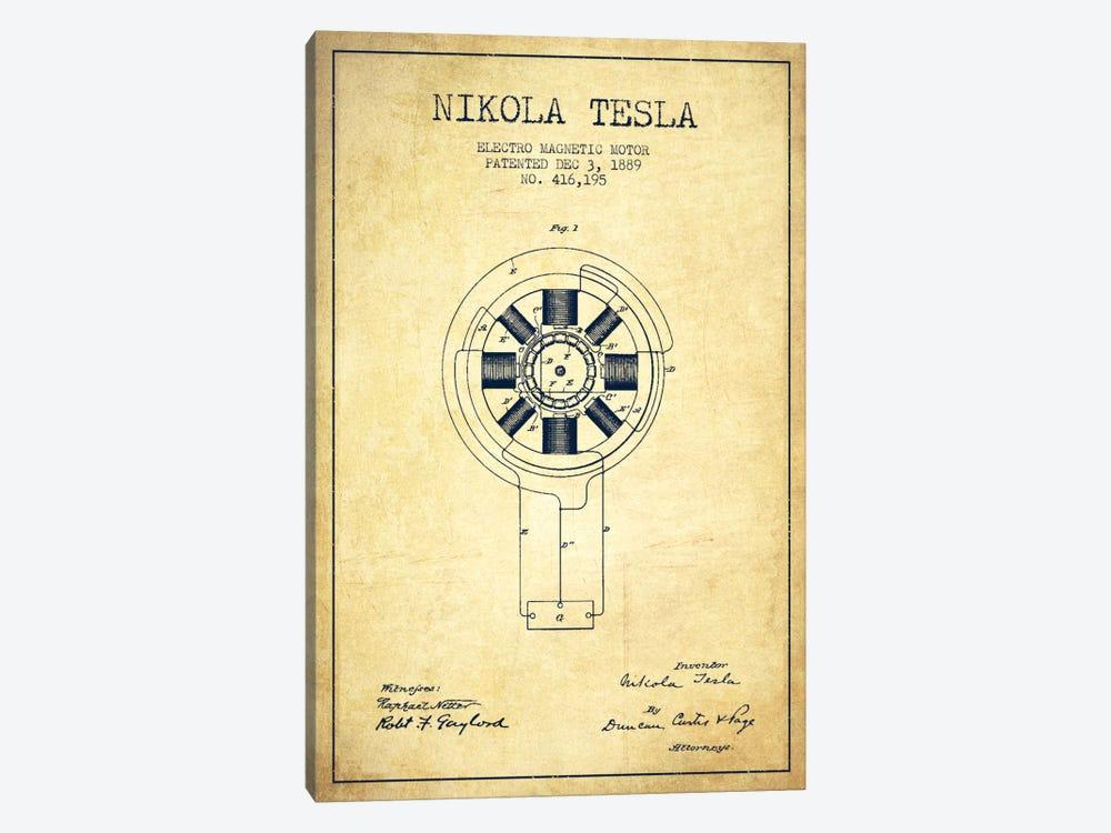 Tesla electromagnetic vintage patent blueprint ca aged pixel tesla electromagnetic vintage patent blueprint by aged pixel 1 piece canvas artwork malvernweather Choice Image