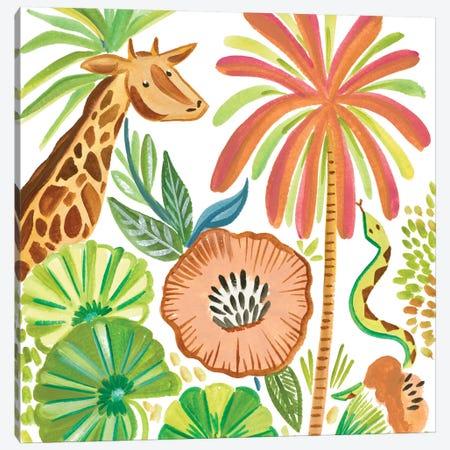 Tropical Wildlife I Canvas Print #ADS18} by Ani Del Sol Canvas Wall Art