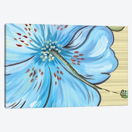 Vibrant Tropical Bloom Canvas Print #ADS21} by Ani Del Sol Art Print