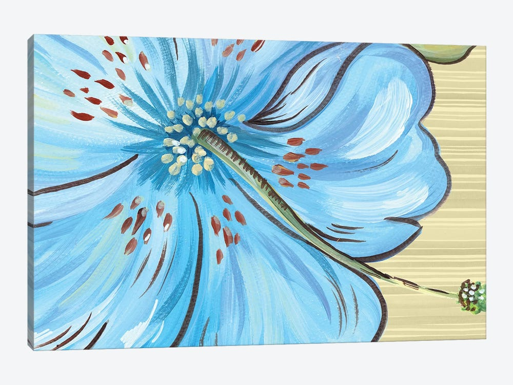 Vibrant Tropical Bloom by Ani Del Sol 1-piece Canvas Wall Art