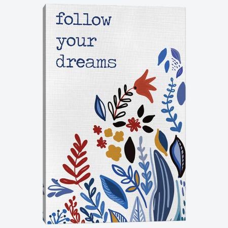 Follow you Dreams 3-Piece Canvas #ADS31} by Ani Del Sol Canvas Art