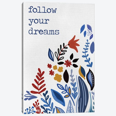 Follow you Dreams Canvas Print #ADS31} by Ani Del Sol Canvas Art