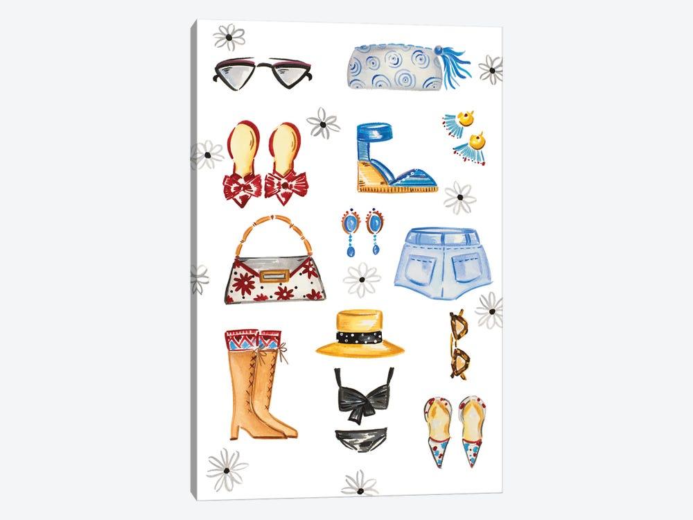 Fashion Accessories by Ani Del Sol 1-piece Canvas Artwork