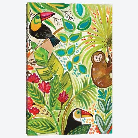 Into the Tropics I Canvas Print #ADS6} by Ani Del Sol Canvas Print