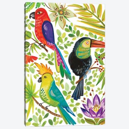 Into the Tropics II Canvas Print #ADS7} by Ani Del Sol Art Print