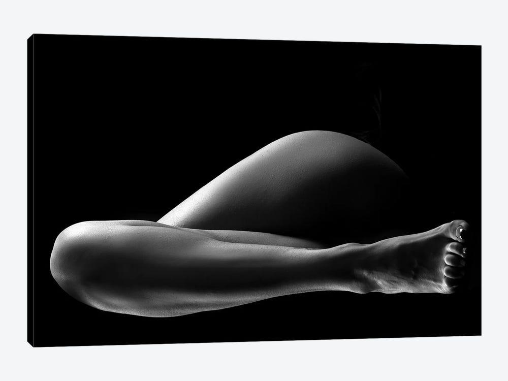 Black And White Nude Woman's Legs II by Alessandro Della Torre 1-piece Canvas Artwork