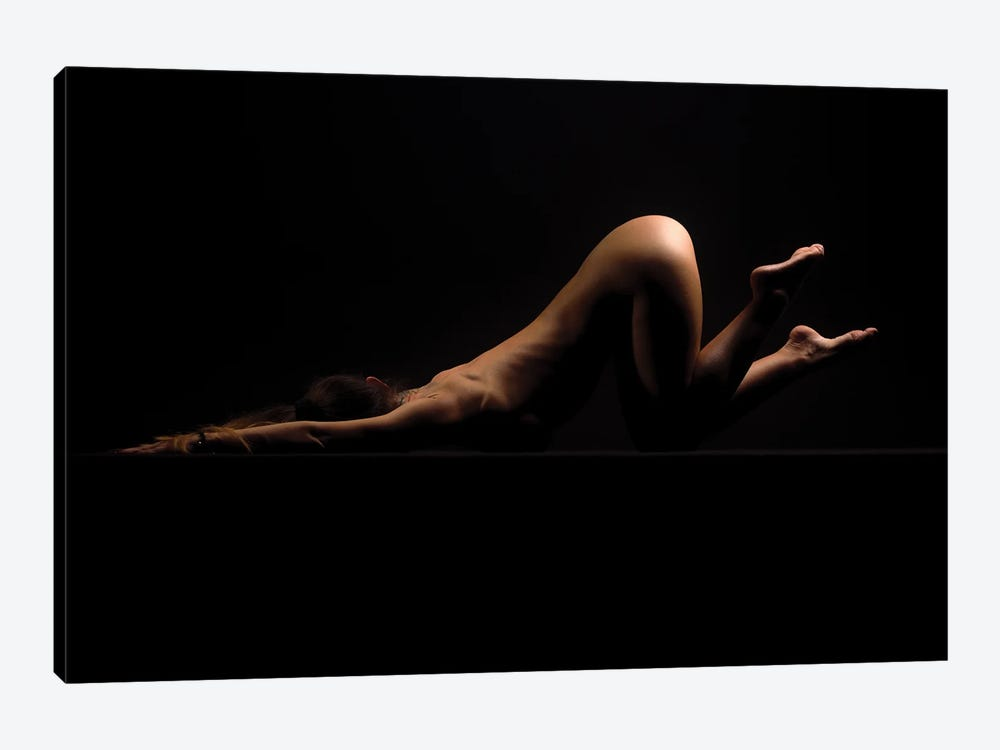 Nude Woman Laying Down With Booty Up II by Alessandro Della Torre 1-piece Art Print