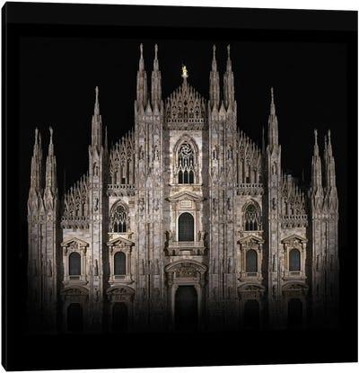 Duomo, Milan, Italy, Gothic Style Canvas Art Print