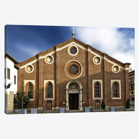 Santa Maria Delle Grazie, Milan, Italy Canvas Print #ADT526} by Alessandro Della Torre Canvas Art