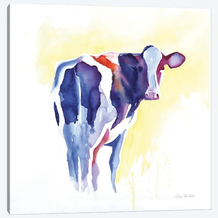 Holstein I Canvas Print #ADV12} by Aimee Del Valle Canvas Print