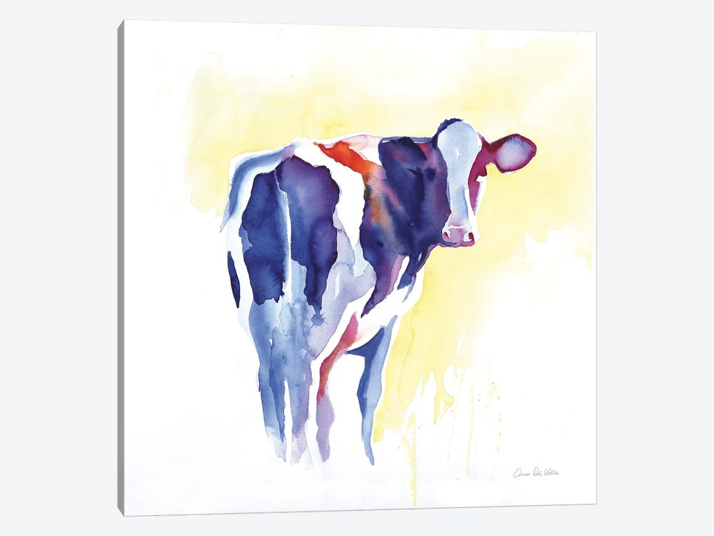 Holstein I by Aimee Del Valle 1-piece Canvas Wall Art