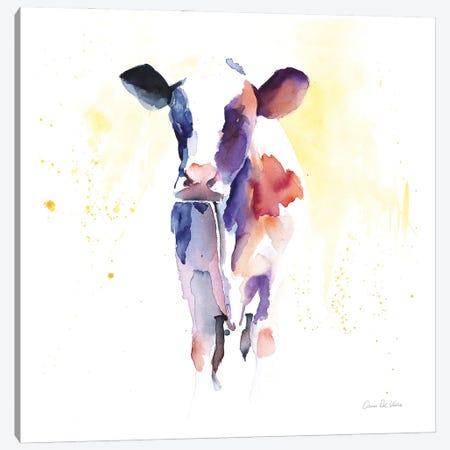 Holstein II Canvas Print #ADV13} by Aimee Del Valle Art Print