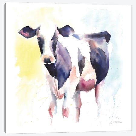 Holstein IV Canvas Print #ADV15} by Aimee Del Valle Canvas Wall Art