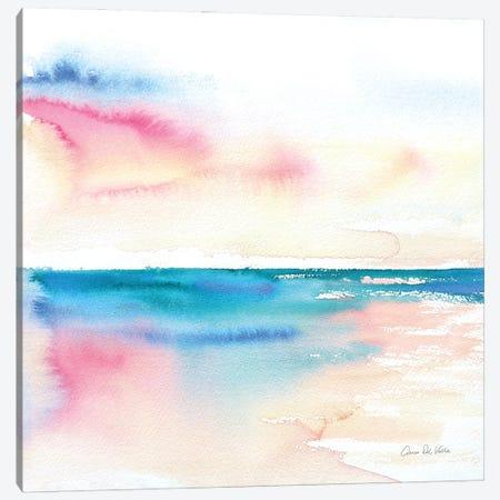 Vivid Coast Canvas Print #ADV19} by Aimee Del Valle Canvas Art Print
