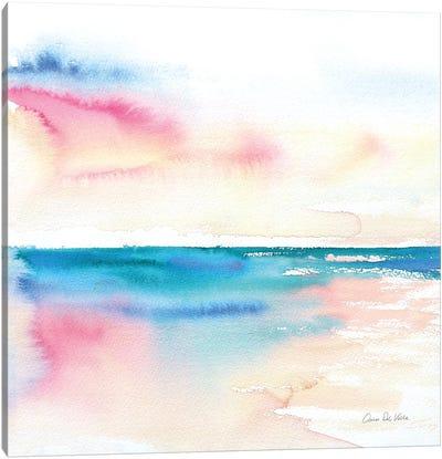 Vivid Coast Canvas Art Print