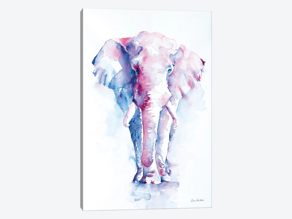 An Elephant Never Forgets by Aimee Del Valle 1-piece Canvas Art Print