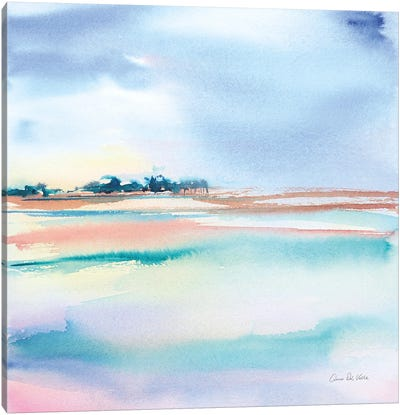 Water and Sand Canvas Art Print