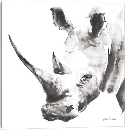 Rhino Gray Canvas Art Print