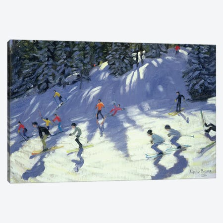 Fast Run Canvas Print #ADW11} by Andrew Macara Canvas Art